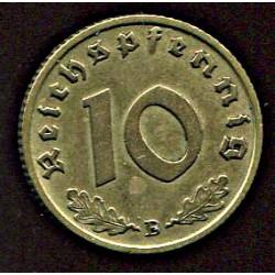Saksamaa 10 reichpfennig...