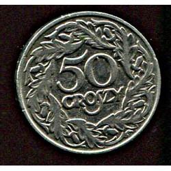 Poola 50 grossi 1923, VF