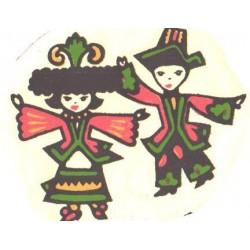 Vesikleepekas tantsiv paar,...