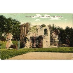 Paide Lossi varemed, enne 1915