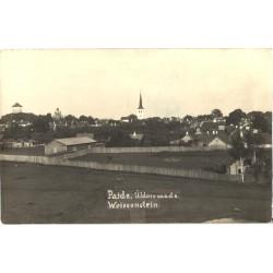 Paide üldvaade, enne 1940