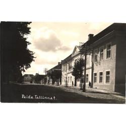Paide:Tallinna tänav, enne...
