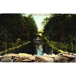 Saku jõe või kanali vaade,...