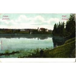 Porkuni loss ja järv, enne...