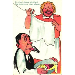 Pesulõksuga mehe suu kinni,...