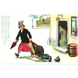 Naine tassib meest kõrtsist...