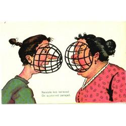Naised suukorvidega, enne 1940