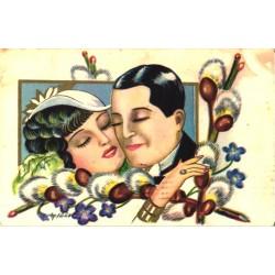 Glamuursed mees ja naine,...