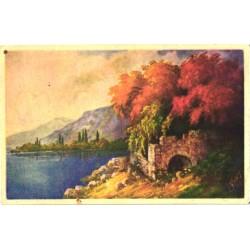 Vana maali koopia, järv,...