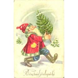Jõuluvana jalutab...