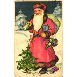 Jõuluvana kingitustega,...