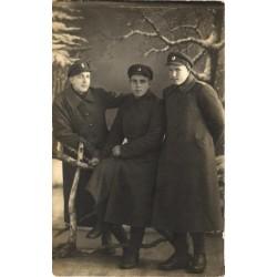 Vabadussõja aegsed sõdurid...