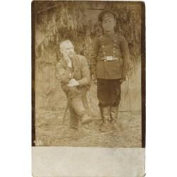 Mundris tsaari vene sõdur...