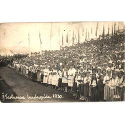 II Tartumaa laulupidu 1930