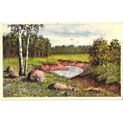 Eesti maastik ojaga, enne 1940