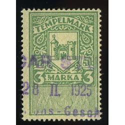 Eesti 3 margane tempelmark,...