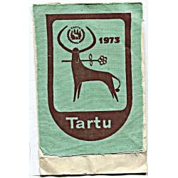 Eesti riidest embleem Tartu...