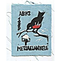 Eesti riidest embleem Abiks...