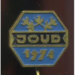 Eesti:Spordimärk JÕUD, 1974