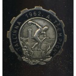 Spordimärk Tallinna 1962....