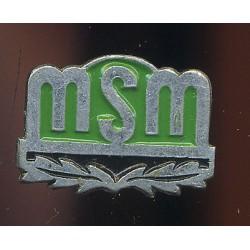 Spordimärk MSM, roheline email