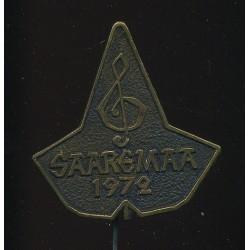 Saaremaa märk, laulupidu 1972