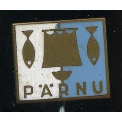 Pärnu, purjelaev ja kalad,...