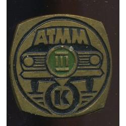 Autoga märk ATMM III K