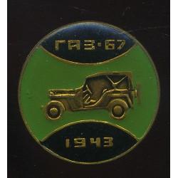 Sõiduauto GAZ-67 1943