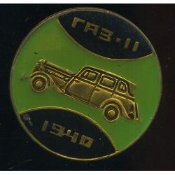 Sõiduauto GAZ-11, 1940