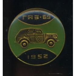 Sõiduauto GAZ-69, 1952