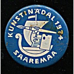 Saaremaa kunstinädal 1974