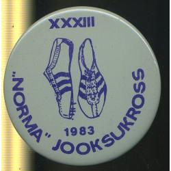XXXIII Norma jooksukross 1983